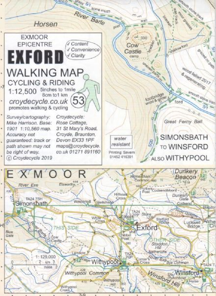 Exford map
